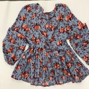 🥀🍃American Eagle Outfitters Bohemian Floral Top